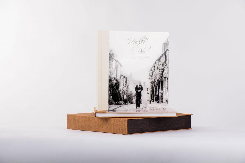 Hochzeitsalbum mit passender Box