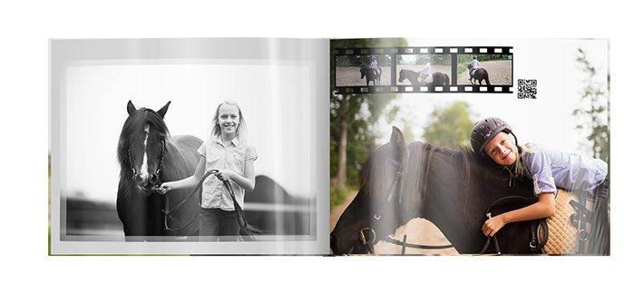 Fotobuch mit PFerdebildern