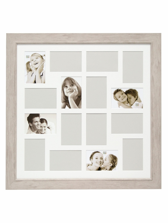 Rahmen mit Bildern von Kindern