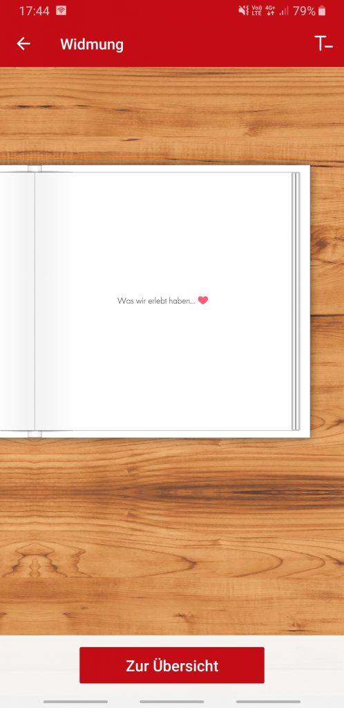 """Titelseite mit Text """"Was wir erlebt haben (Herz)"""""""