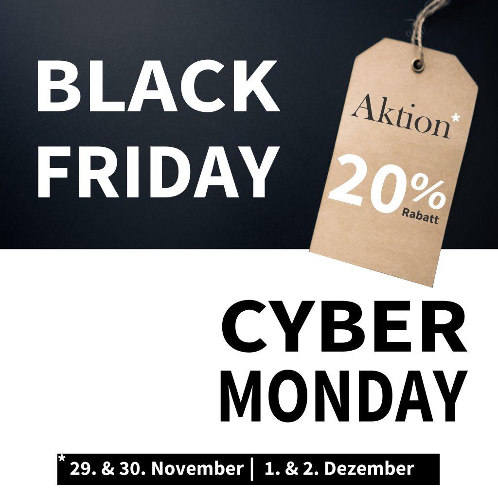 Black Friday Cyber Monday Angebot deknudt Rahmen 20%