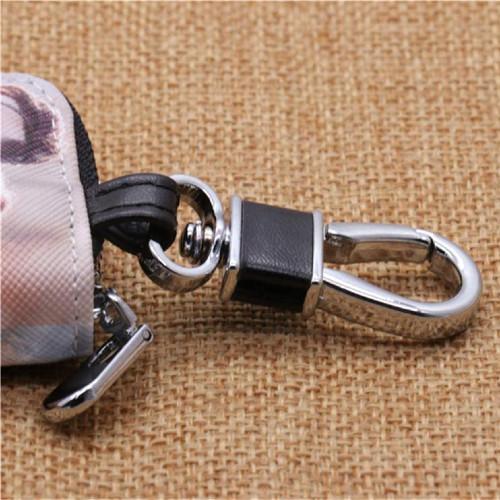 Karabiner eines Schlüsseletuis