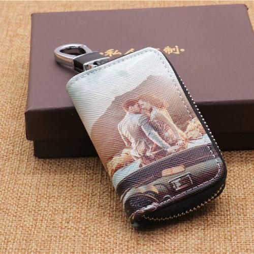 Schlüsseletui mit Foto inklusive Verpackung