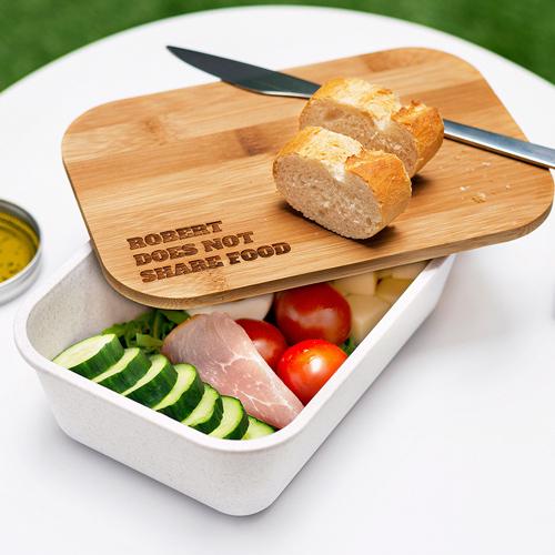 Lunchbox mit Bambus-Deckel