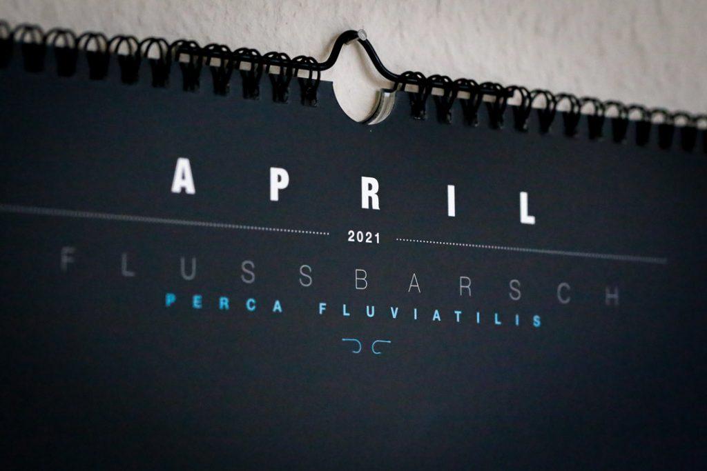 Detailansicht Kalender-Titel April 2021