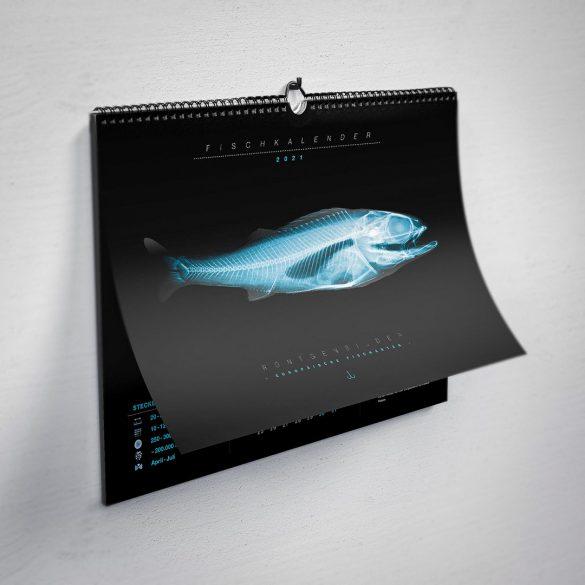 Titelblatt Fischröntgenkalender 2021